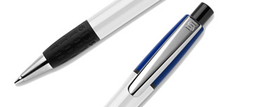 Promotional pens with metal details